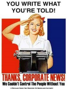 News corporate disinformation
