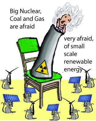 afraid of small energy