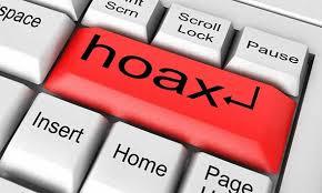 text hoax