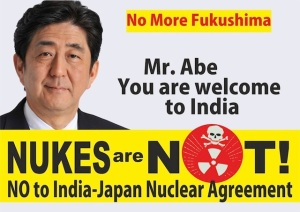 Abe to India