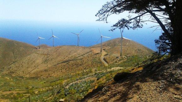 Wind El Hierro island