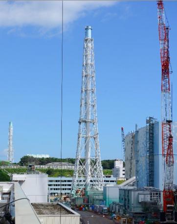 Chimney-stack-behind-Fukush