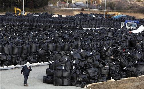 waste-bags-Fukushima