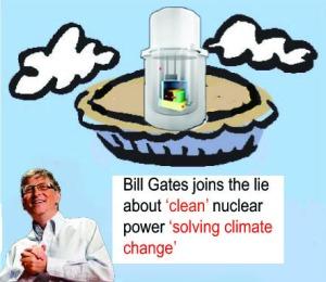 Gates climate lie