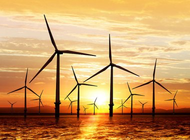 Offshore wind farm. Photo: Stanford University