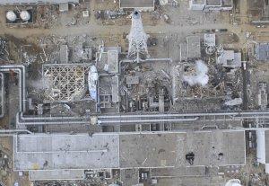 Fukushima Units 3 and 4, April 2011