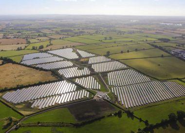 BayWa solar park in England.