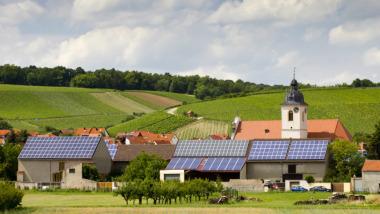 Solar power in Germany. Shutterstock image.