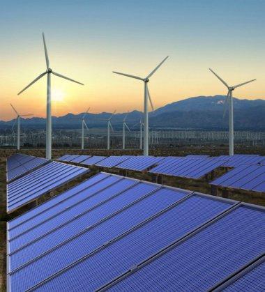 Australian solar and wind.