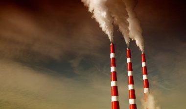 Smokestacks.