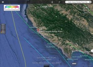 Diablo Nuclear Earthquake Hazard USGS