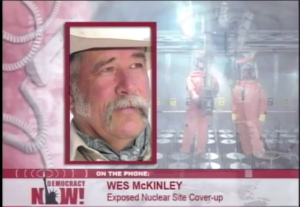 Wes McKinley DemocracyNow  May 4 2004