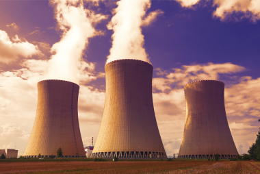 Cooling towers. Shutterstock image.