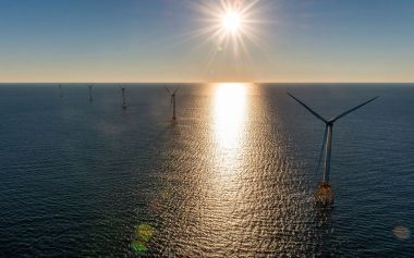 The Block Island Wind Farm. Photo courtesy of Deepwater Wind.