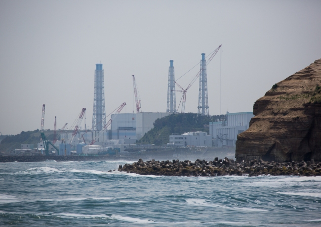 Fukushima daiichi nuclear power plant five years after the tsunami, Fukushima prefecture, Futaba, Japan