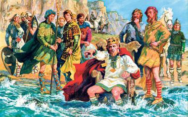 King Canute, trying to stop the tide Nature has a way of ignoring our most ardent wishes.