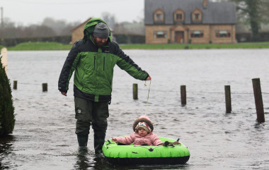 Floody hell: Climate change is a concern,  but so is everyday regulation in the US. (Photo: Lorraine Teevan)