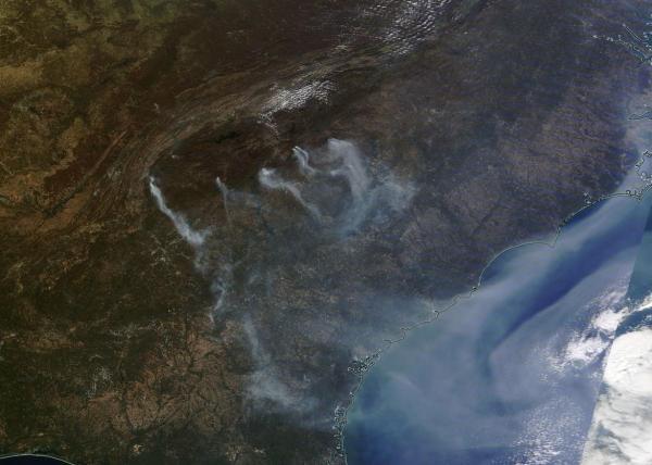 appalachian-wildfires