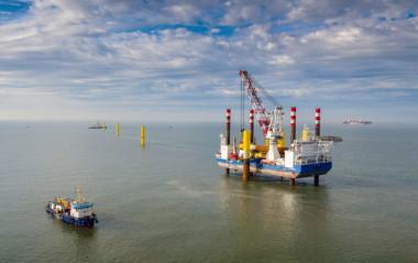 Nordergünde turbine installation (Image by WPD AG)
