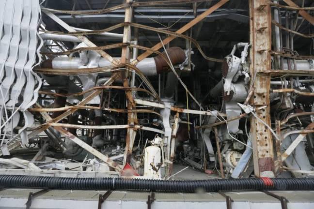 damaged building housing the No. 4 reactor.jpg