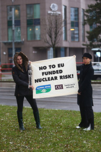 No to EU Funded Nuclear Risk by Bankwatch