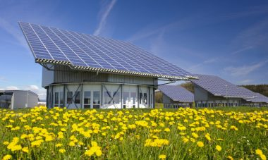 Solar powered house in Germany
