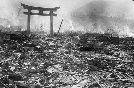 Nagasaki one day after the atomic bombing seen in newly-discovered pictures.