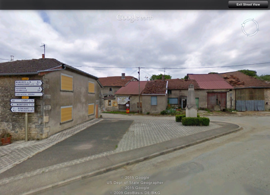 Streetview Bure France