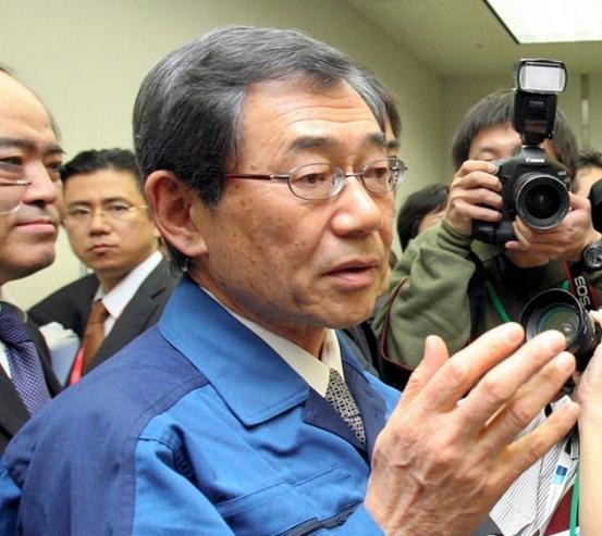 Tepco former president Masataka Shimizu 27 dec 2017.jpg