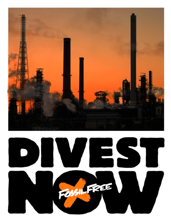 Image result for divest from fossil fuels campaign