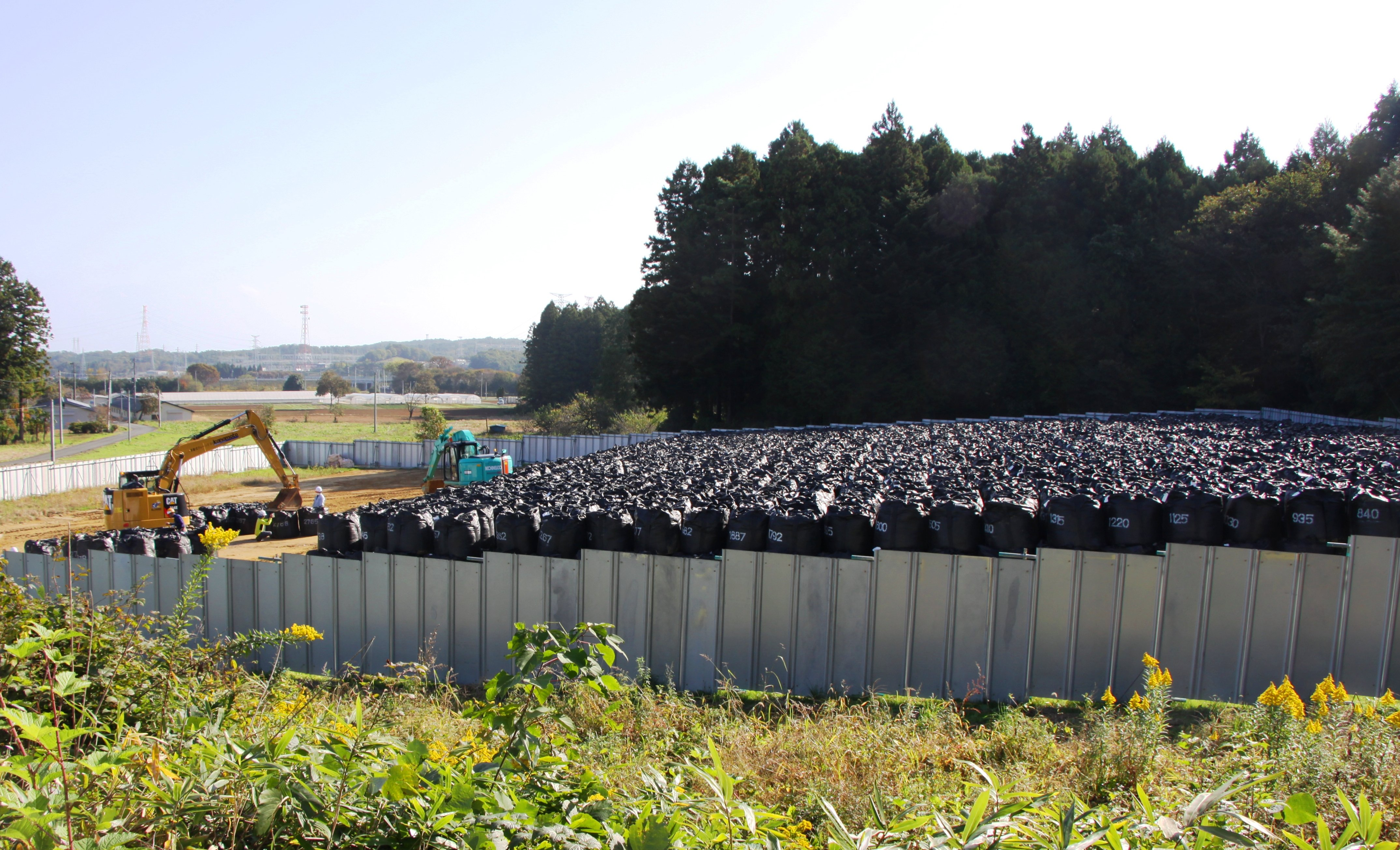 radioactive soil