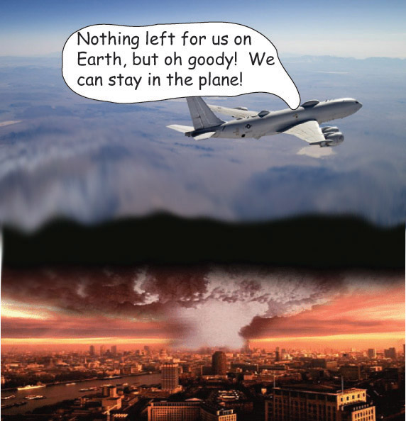 Usa S Doomsday Plane The Pilots Might Survive Anyway
